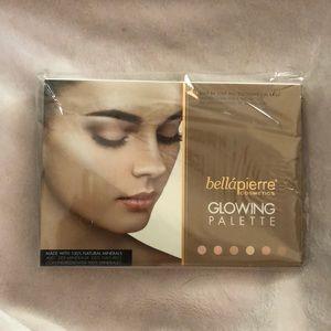 Bella Pierre cosmetics Glowing Palette